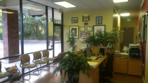 Sunrise Chiropractic Waiting Area