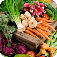 Organic produce that is fresh and local reduces your risk of cancer and other diseases related to toxins used in the agricultural industry.