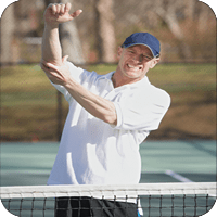 Chiropractor for tennis elbow