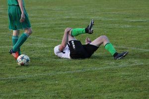 soccer play injured